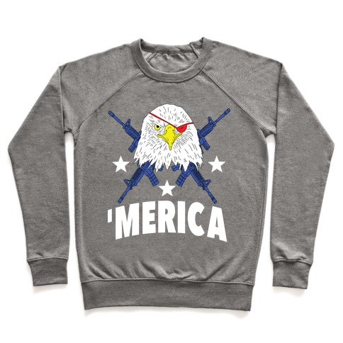 Bad Ass Bald Eagle Pullover