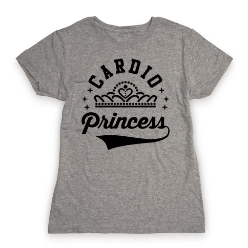 Cardio Princess Womens T-Shirt
