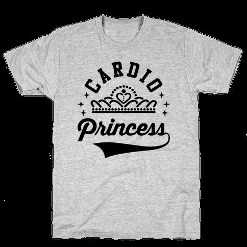Cardio Princess Mens T-Shirt