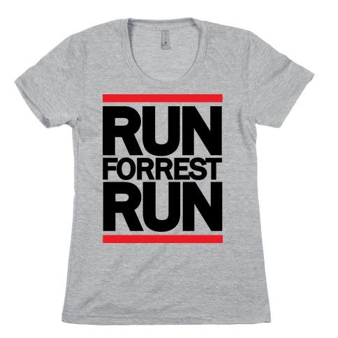 Run Forrest Run Womens T-Shirt