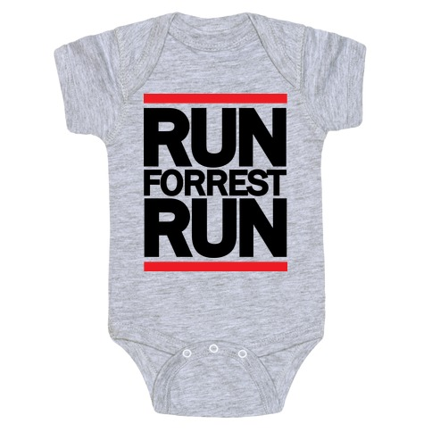 Run Forrest Run Baby Onesy