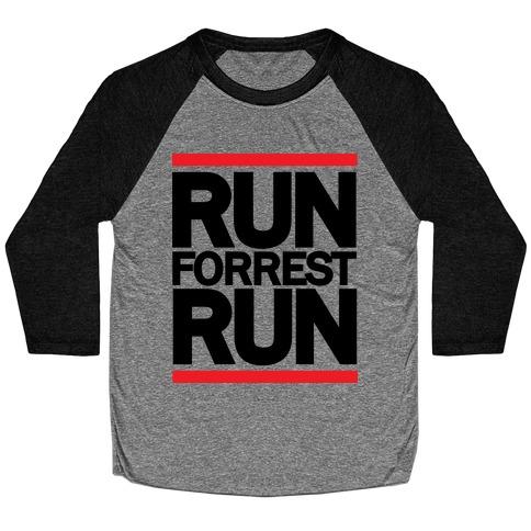 Run Forrest Run Baseball Tee