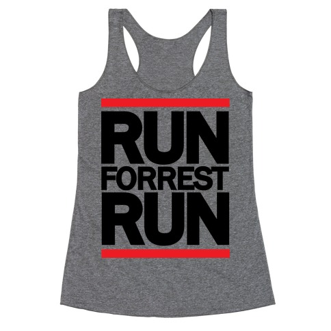 Run Forrest Run Racerback Tank Top