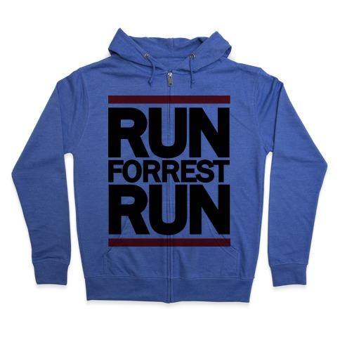 Run Forrest Run Zip Hoodie