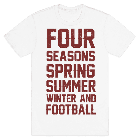 Four Seasons Spring Summer Winter And Football