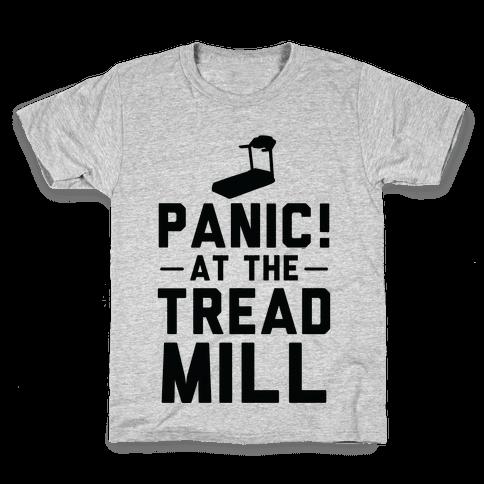 Panic! At The Treadmill Kids T-Shirt