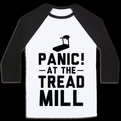 Panic! At The Treadmill Baseball Tee