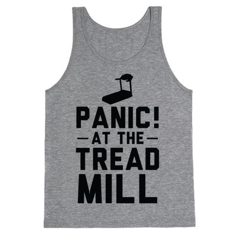 Panic! At The Treadmill Tank Top