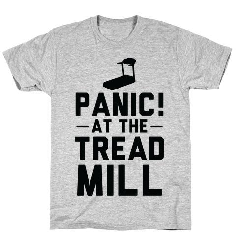 Panic! At The Treadmill Mens T-Shirt