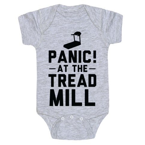 Panic! At The Treadmill Baby Onesy