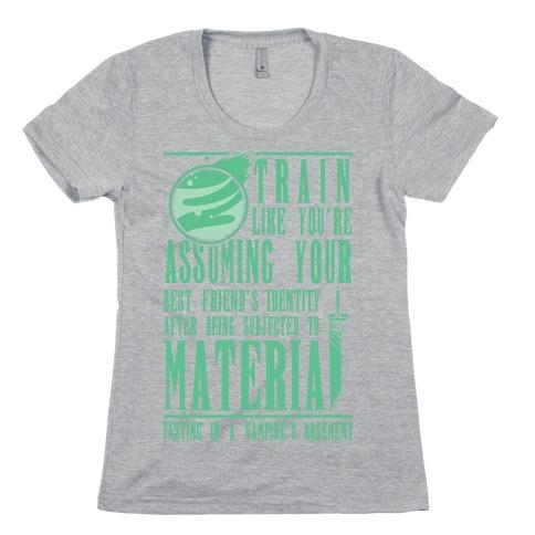 Train Like Cloud Womens T-Shirt