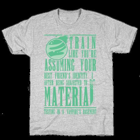 Train Like Cloud Mens T-Shirt