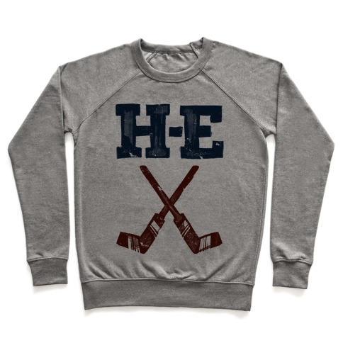 H E Double Hockey Sticks (Hell) Pullover