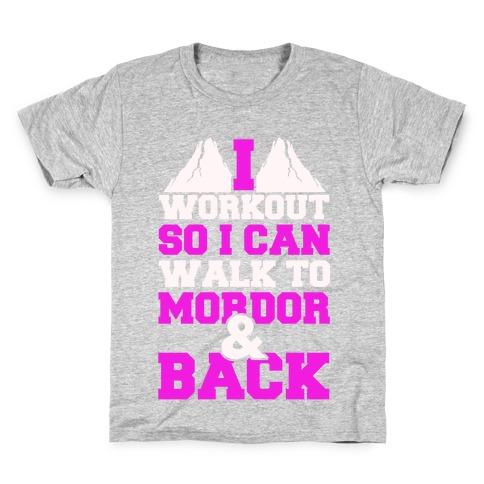 Workout Fellowship Style Kids T-Shirt