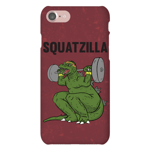 Squatzilla Phone Case