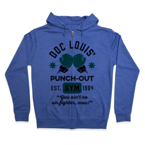 Doc Louis' Punch Out Gym Zip Hoodie