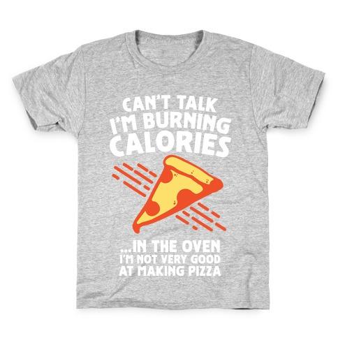 Burning Calories Kids T-Shirt