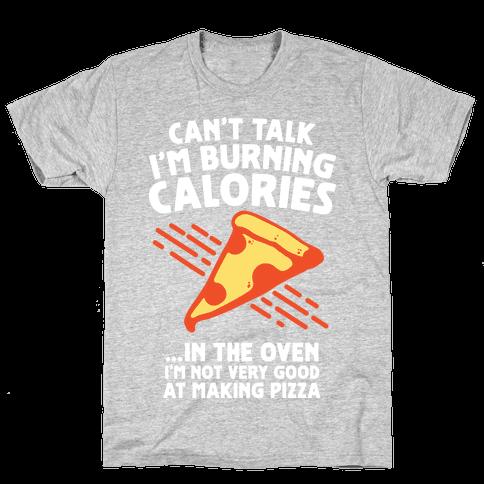 Burning Calories Mens T-Shirt