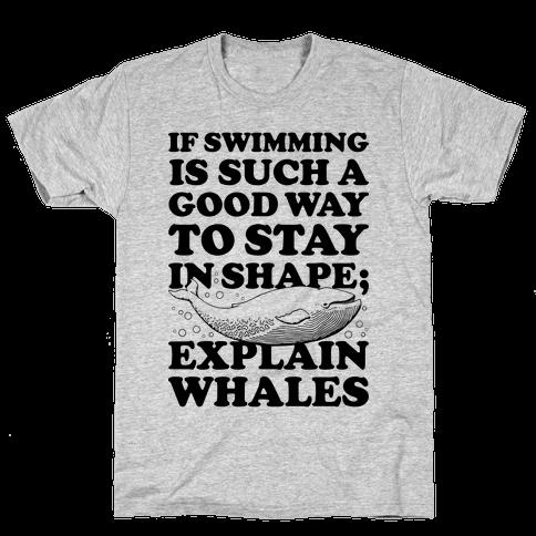Explain Whales Mens T-Shirt