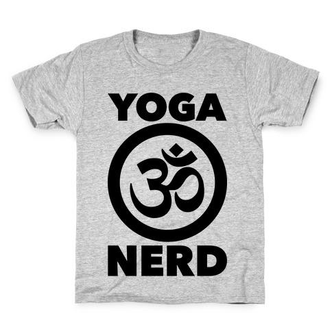 Yoga Nerd Kids T-Shirt