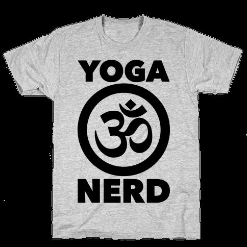 Yoga Nerd Mens T-Shirt