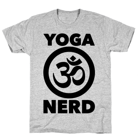 Yoga Nerd Mens T-Shirt