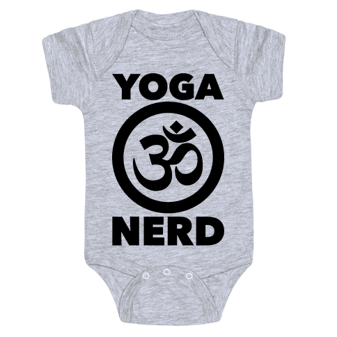 Yoga Nerd Baby Onesy