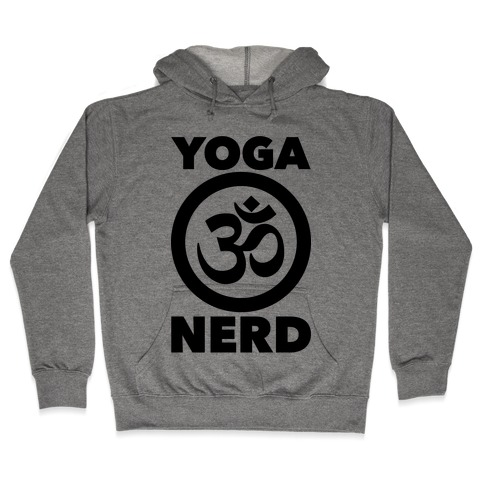 Yoga Nerd Hooded Sweatshirt