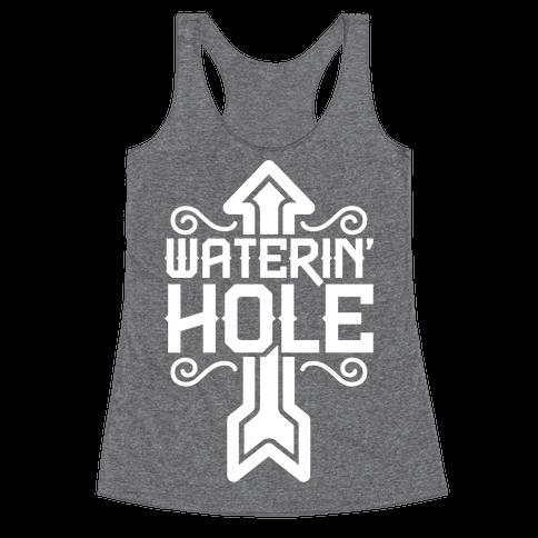 Waterin' Hole Racerback Tank Top