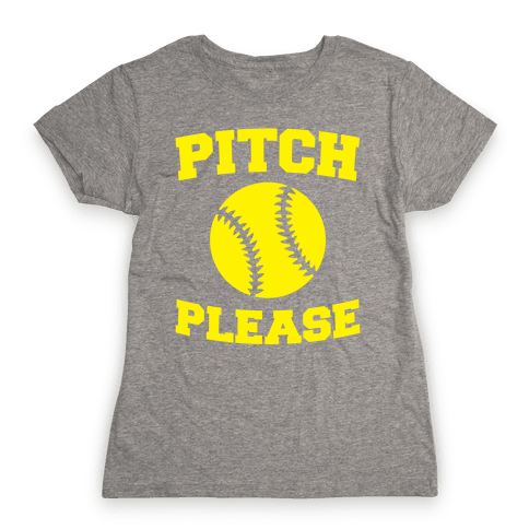 Pitch Please Womens T-Shirt