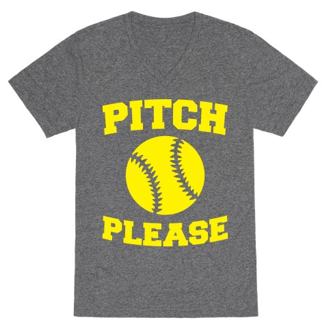Pitch Please V-Neck Tee Shirt
