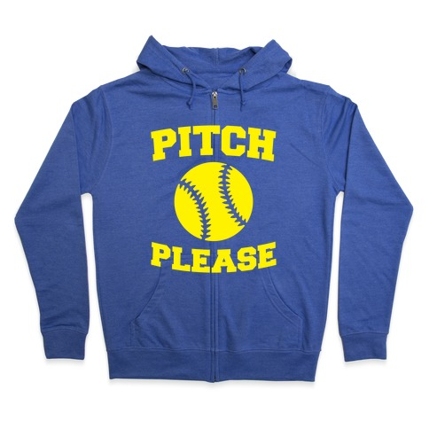 Pitch Please Zip Hoodie