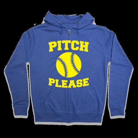 Pitch Please Zip Hoodie