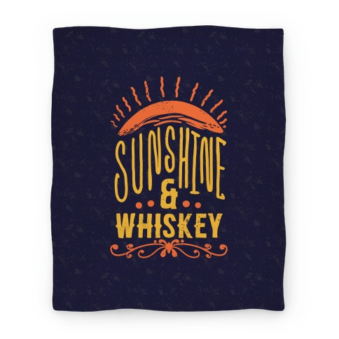 Sunshine and Whiskey (Blanket) Blanket