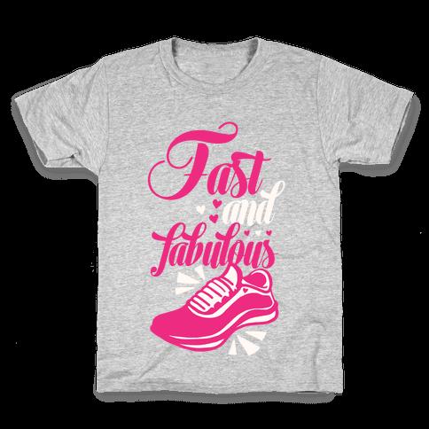 Fast and Fabulous Kids T-Shirt