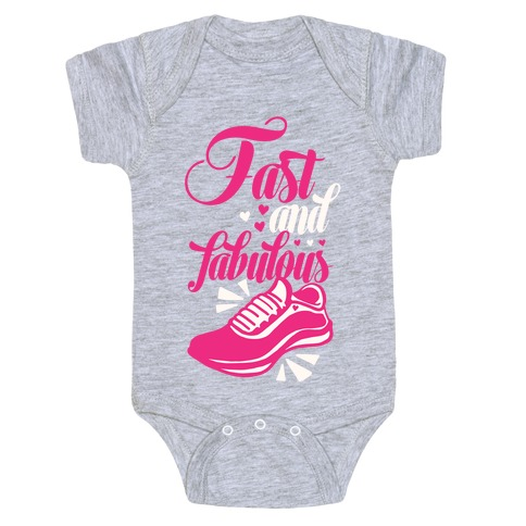 Fast and Fabulous Baby Onesy