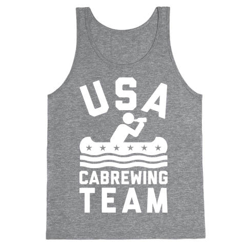 USA Cabrewing Team Tank Top