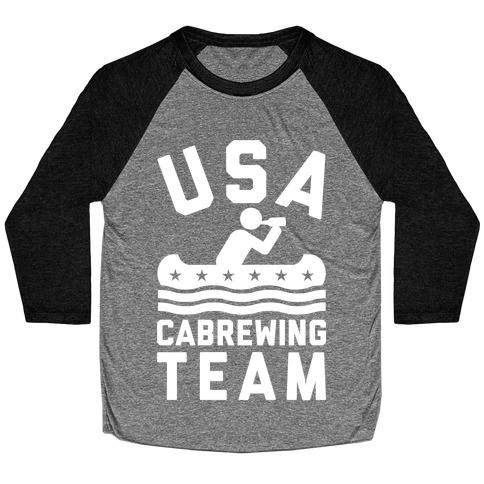 USA Cabrewing Team Baseball Tee