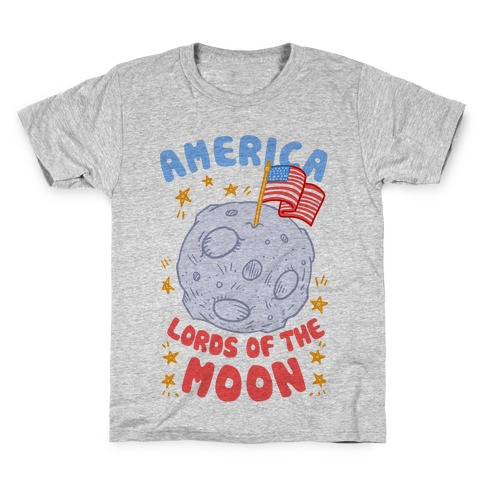 America Lords of the Moon Kids T-Shirt