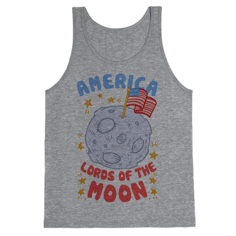 America Lords of the Moon Tank Top
