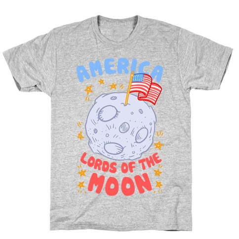 America Lords of the Moon T-Shirt