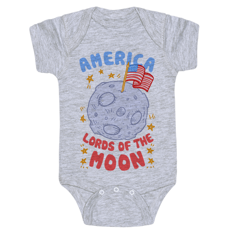 America Lords of the Moon Baby Onesy