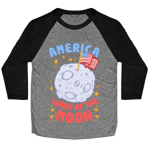 America Lords of the Moon Baseball Tee
