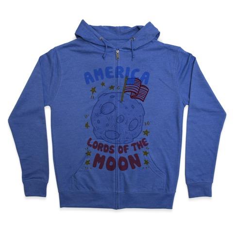America Lords of the Moon Zip Hoodie