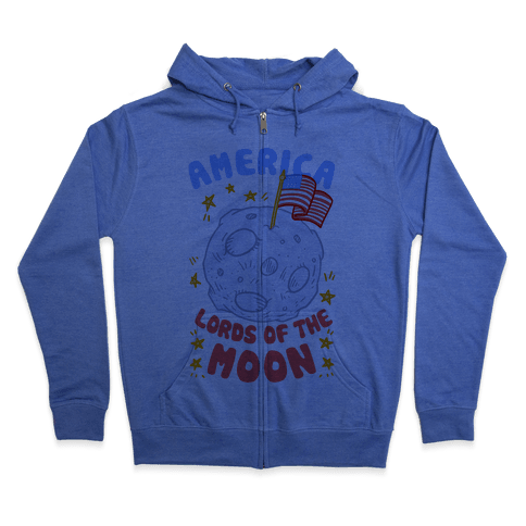 America Lords of the Moon Zip Hoodie