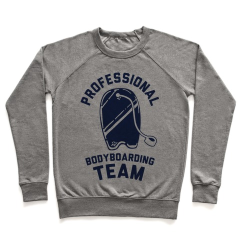 Professional Body Boarding Team Pullover