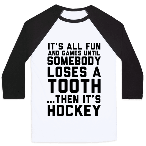 All Fun and Games Baseball Tee