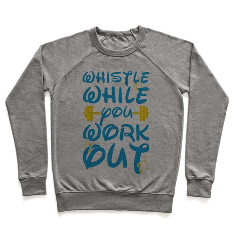Whistle While You Workout Pullover