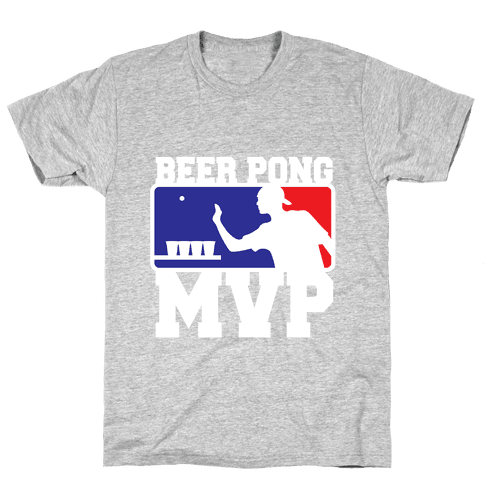 Beer Pong MVP Mens T-Shirt