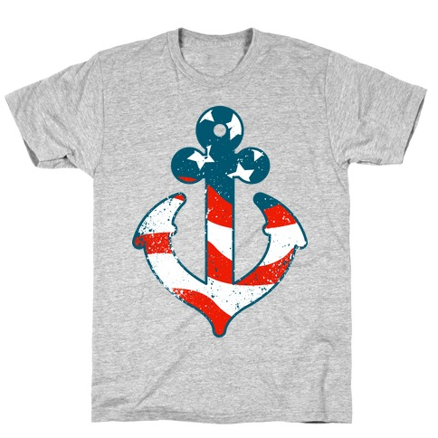 American Anchor (Navy Raglan) T-Shirt
